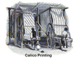 calico printing
