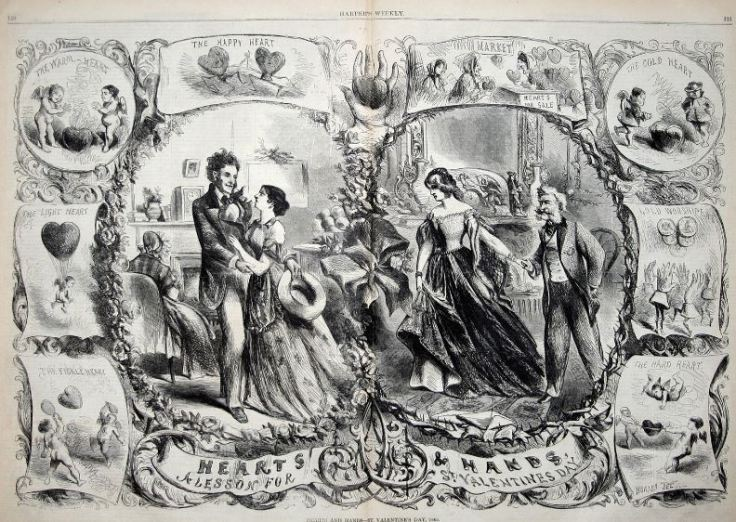 Valentine's Day  Source: Harper's Weekly
